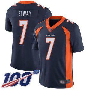 Broncos John Elway 100th Season Jersey